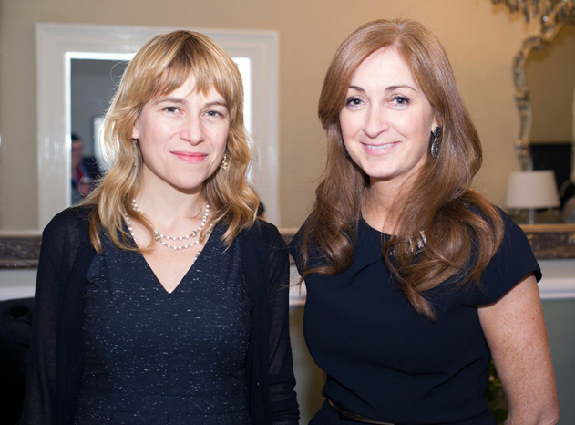 Niamh Bushnell, Dublin Startup Commissioner with Leonora O'Brien, Founder and CEO, Pharmapod at the opening of the new headquarters of Pharmapod in Leeson Street, Dublin, on Tuesday November 11.