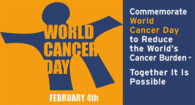World Cancer Day: 4th February