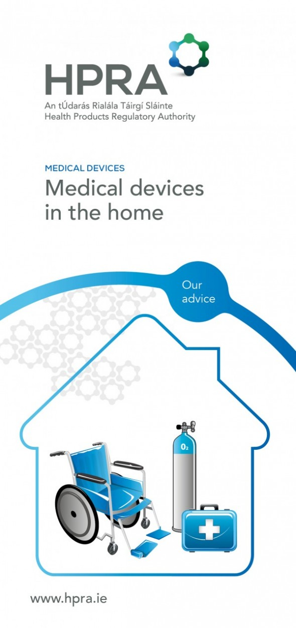 HPRA Safety Notice – Medical Devices in the Home