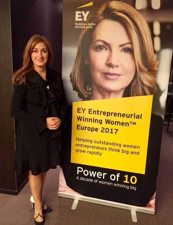 First Irish Woman selected for EY's Entrepreneurial Winning Women™, Europe
